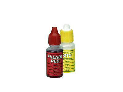Recharge Ortho & Phenol 15cc.Recharge pour trousse d'analyse piscine Chlore & pH