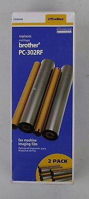 Office Max 2 Roll Imaging Film For Brother PC-302RF Never Used