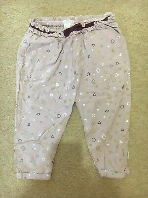 Mama&papa Girls Cotton Trousers 18-24mnths