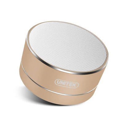 Portable Bluetooth Speaker Aluminum Wireless Stereo with Built-in Micro SD/TF US