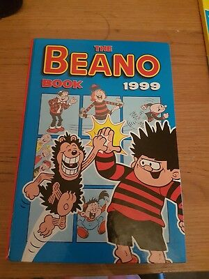 """The Beano Book"" 1999 Hardback Comic Book"