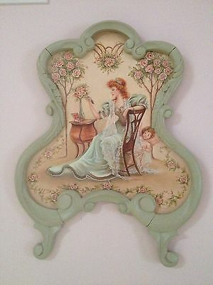 Regency Victorian Hand Painted Portrait Antique Art Nouveau Frame SALE $399.OFF
