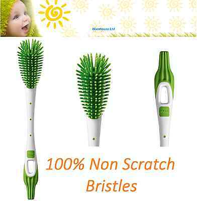 Bottle Brush MAM Soft with 100% Non-Scratch Bristles Brush Fast Delivery