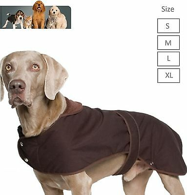 Ancol Dog Coat Timberwolf Extreme Dog Wax Jacket Small Medium Large X Large