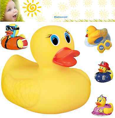 Munchkin Bath Duck White Hot Safety 4 Designs Baby Toy Fast Delivery