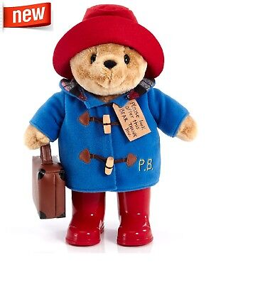 Paddington Classic Bear with Boots Suitcase Large 34cm Official Paddington Bear