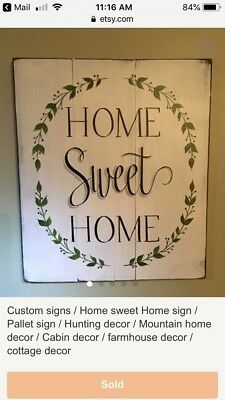 Rustic Signs Home Signs Cabin Decor Cottage Vintage