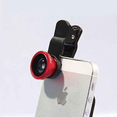 Cell Phone Fish Eyes Wide Angle Macro Lens Camera Lens For iPhone 4 5 SE 6 Plus