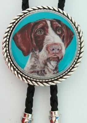German Wirehaired Pointer Dog Classic Bolo Tie