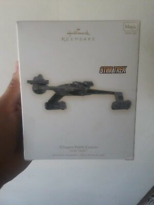 Star Trek 2009 Klingon Battle Cruiser Hallmark Keepsake with Magic Light