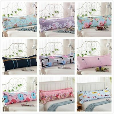 1x Fashion Bed Long Body Pillow Cover Protector Pillowcase 1 2 5m Dust Large