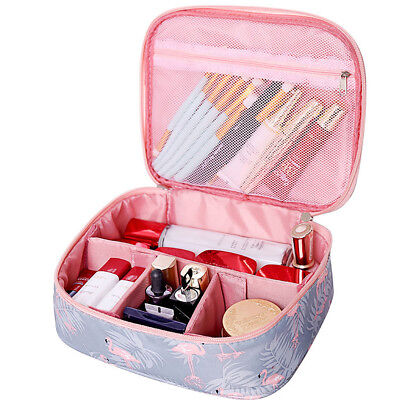 Women Multifunction Travel Cosmetic Bag Makeup Case Zip Pouch Toiletry Organizer