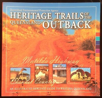 Heritage Trails Queensland Outback Matilda Highway Wool Opal Fields Maps Guide