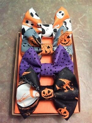 Nightmare Before Christmas Bows Cheer Bow Hair Bows Halloween Movies