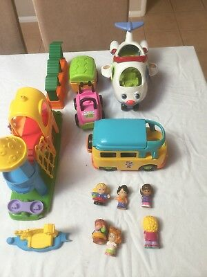 Fisher Price Little People Aeroplane, Bus, Car and more