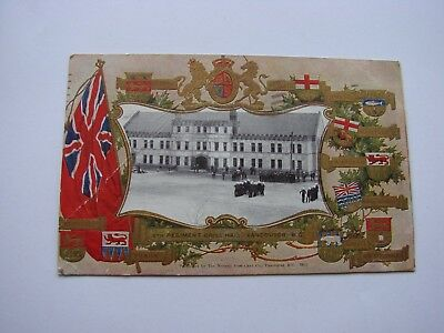 Canada Pre WW1 Militia Military Postcard The 6th Regt DCOR Vancouver