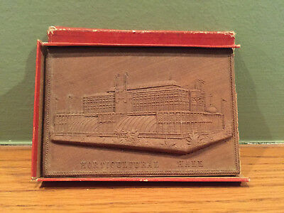 1876 Centennial Exposition Wood Carving Horticultural Hall ~ World's Fair, Phila