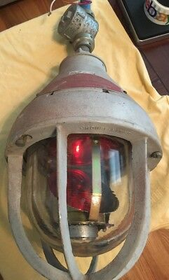 Federal Signal Corporation Model 27X Light Beacon Crouse-Hinds - Used Condition