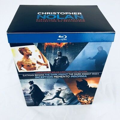 Christopher Nolan Directors Collection 9-Disc Blu-ray Box Set - 6 Great Movies