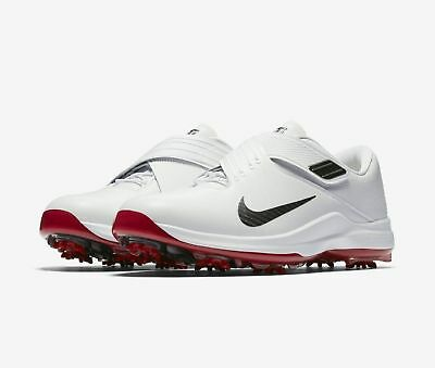 NEW NIKE $200 Men's TW 17 Tiger Woods White Golf Shoes