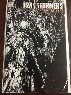SDCC 2018 IDW Exclusive TRANSFORMERS UNICRON #1 Variant Cover Diamond Exclusive