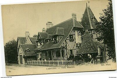 CPA-Carte postale-  France - Cabourg - Villa Maurice ( CP4373)