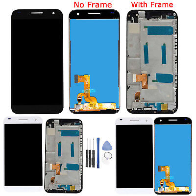 Per Huawei G7 G700 Display LCD Touch Screen Digitizer Assembly con Frame + Tools
