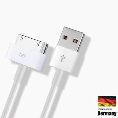 USB Ladekabel Daten kabel für Original Apple iPhone 4S 4 3GS 3G iPod iPad 1m