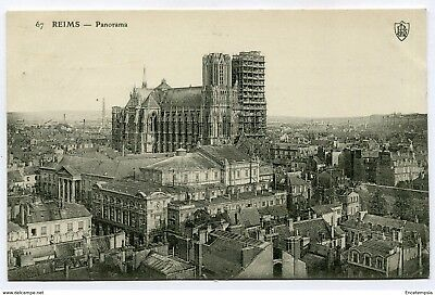 CPA-Carte postale-  France - Reims - Panorama - 1907 ( CP4396)