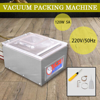 120W 220V Commercial Vacuum Packing Sealing Machine Sealer Home Kitchen Food