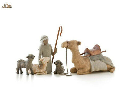 NEW! Willow Tree Shepherd and Stable Animals for Nativity Susan Lordi Demdaco