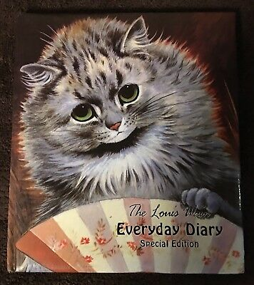 The Lous Wain Everyday Diary Special Edition ~ Charming Book For Cat Lovers