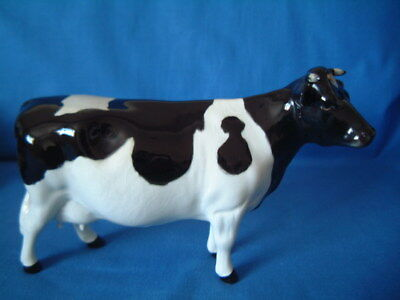 Beswick ** Friesian Cow ** Claybury Leegwater   Made In Eng