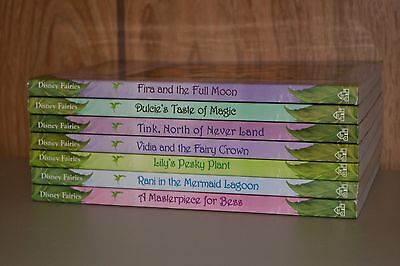 Lot of 7 Disney Fairies Tales From Pixie Hollow Series Matched Set Chapter Books