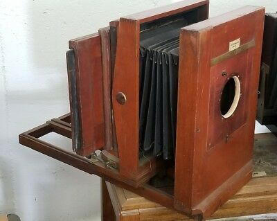 """E&HT ANTHONY & CO NEW YORK 8"""" X 10"""" Collodion Wet Plate Studio Camera"""