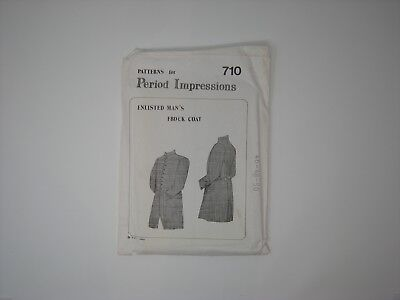 Patterns for Period Impressions Enlisted Man's Frock Coat