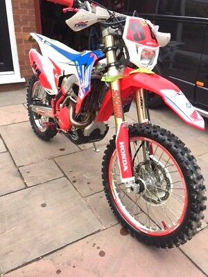 Honda Crf450 Re 2016 Enduro Competition Bike Road Legal Race Bike