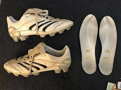 72cf485bd925 discount code for adidas predator absolute trx fg white gold boots rare  661219 us 12 uk