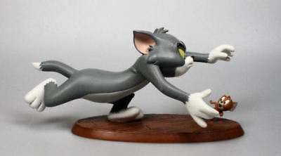 """Coole Tom und Jerry Catch me if you can Polyresin Figur 9"""" 25cm"""