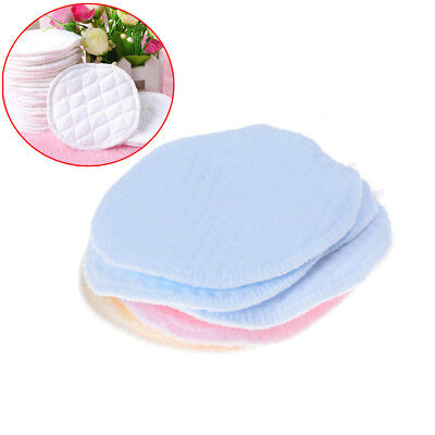 6pcs Reusable Washable Absorbent Mom Baby Breast Feeding Nursing Pads  Supply RS