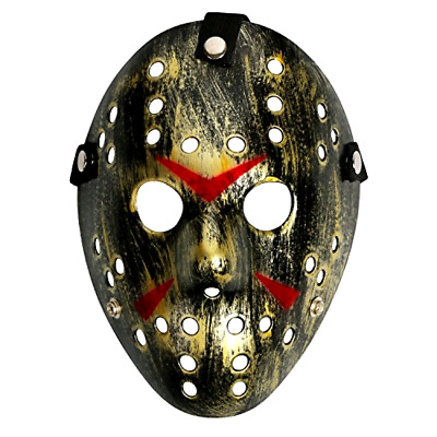 friday the 13th jason voorhees horror hockey mask costume halloween accessories
