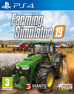 Ps4 Farming Simulator 2019  Multilingue Disponibile