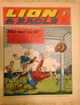 LION AND EAGLE UK COMIC. 17th June 1969. FREE UK POSTAGE.