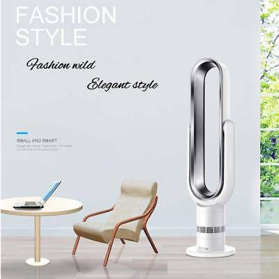 Bladeless Fan 6A Remote Control Air Purifier Mute Timing Fan for Home Office KS
