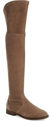 c61d78df57a  400+ Gentle Souls Emma Over The Knee Boot STRETCH SUEDE LOWLAND BROWN 8 (2