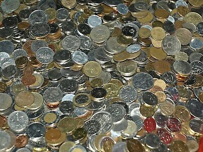 Lot 130 assorted World Foreign Coins No Junk