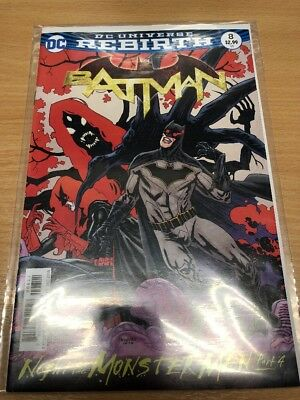Batman  #8   New  (Bagged & Boarded) Freepost