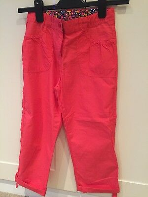 Mountain Warehouse Girls Walking Trousers Pink Coral Size 7/8