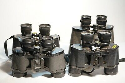 Lot of 4 Vintage Pairs of Bushnell 7x35 and 7x50 Binoculars