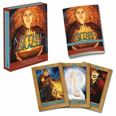 Mythic Oracle: Wisdom of the Ancient Greek Pantheon Cards